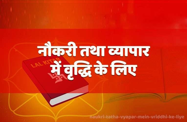 naukaree tatha vyaapaar mein vrddhi ke liye